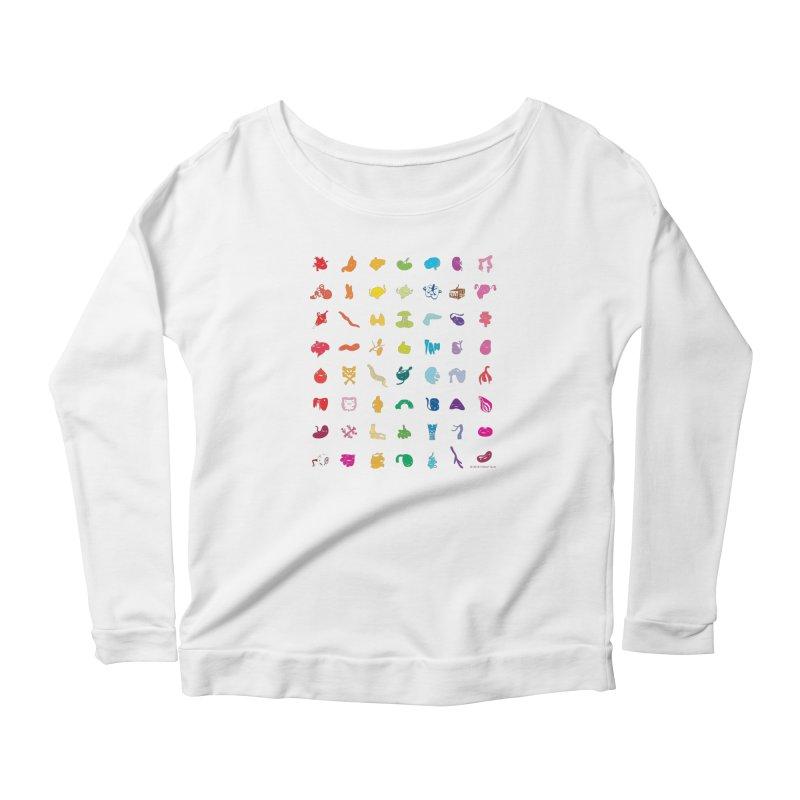 Guts Grid Women's Longsleeve T-Shirt by I Heart Guts