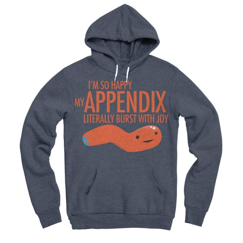 Appendix Literally Burst With Joy Women's Sponge Fleece Pullover Hoody by I Heart Guts