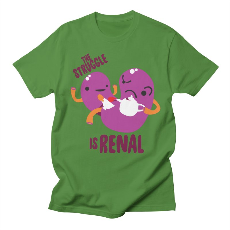 Kidney - The Struggle is Renal Women's Regular Unisex T-Shirt by I Heart Guts