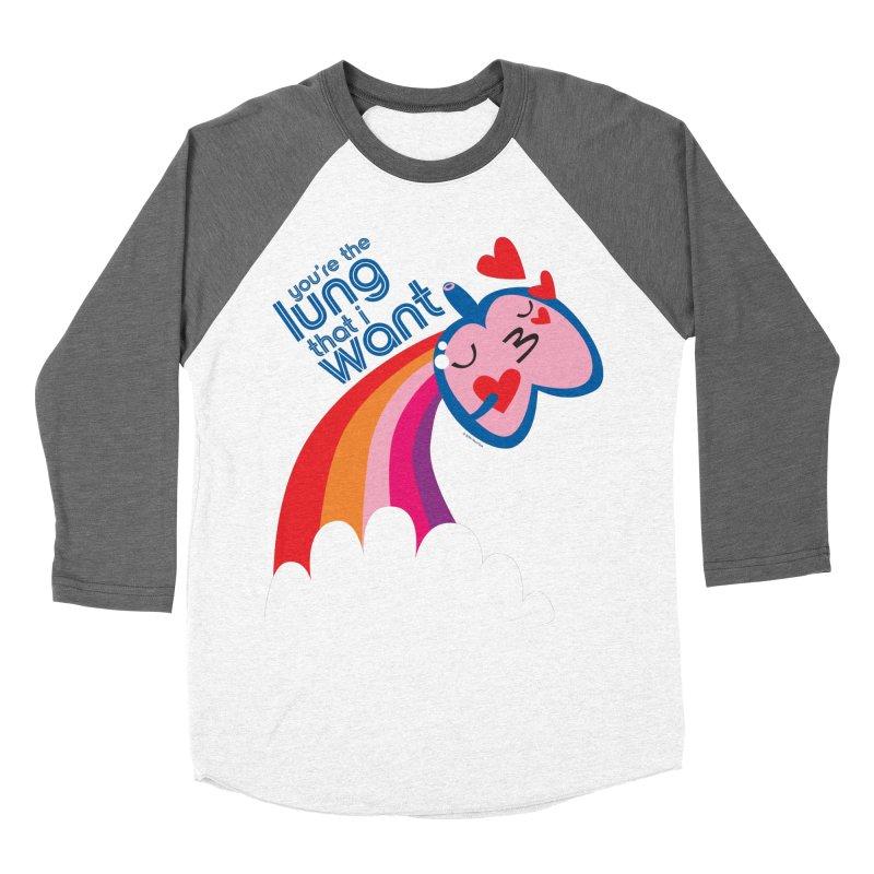 Lung That I Want Women's Longsleeve T-Shirt by I Heart Guts