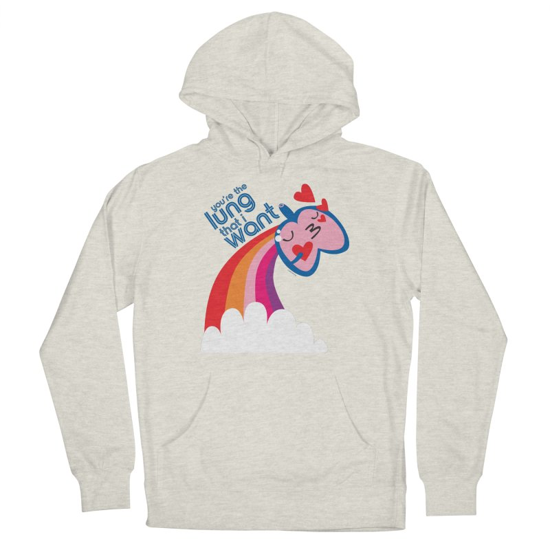 Lung That I Want Men's French Terry Pullover Hoody by I Heart Guts