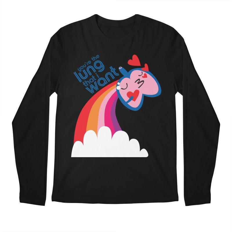 Lung That I Want Men's Regular Longsleeve T-Shirt by I Heart Guts