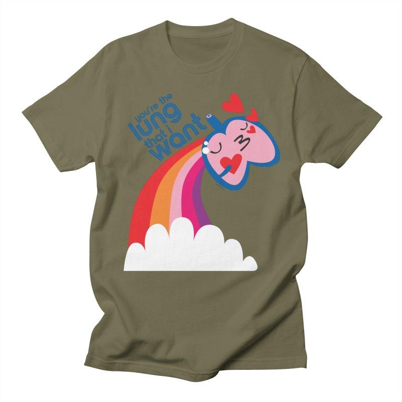 Lung That I Want Men's Regular T-Shirt by I Heart Guts