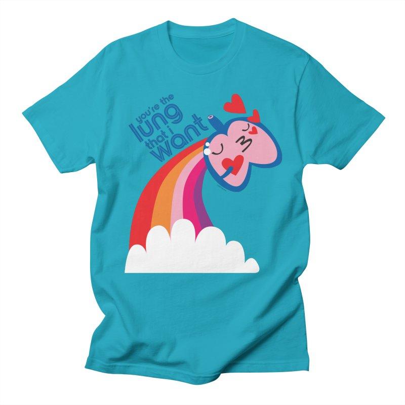 Lung That I Want Women's Regular Unisex T-Shirt by I Heart Guts