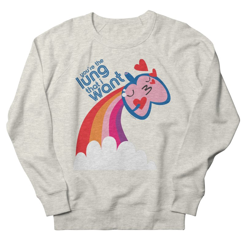 Lung That I Want Men's French Terry Sweatshirt by I Heart Guts