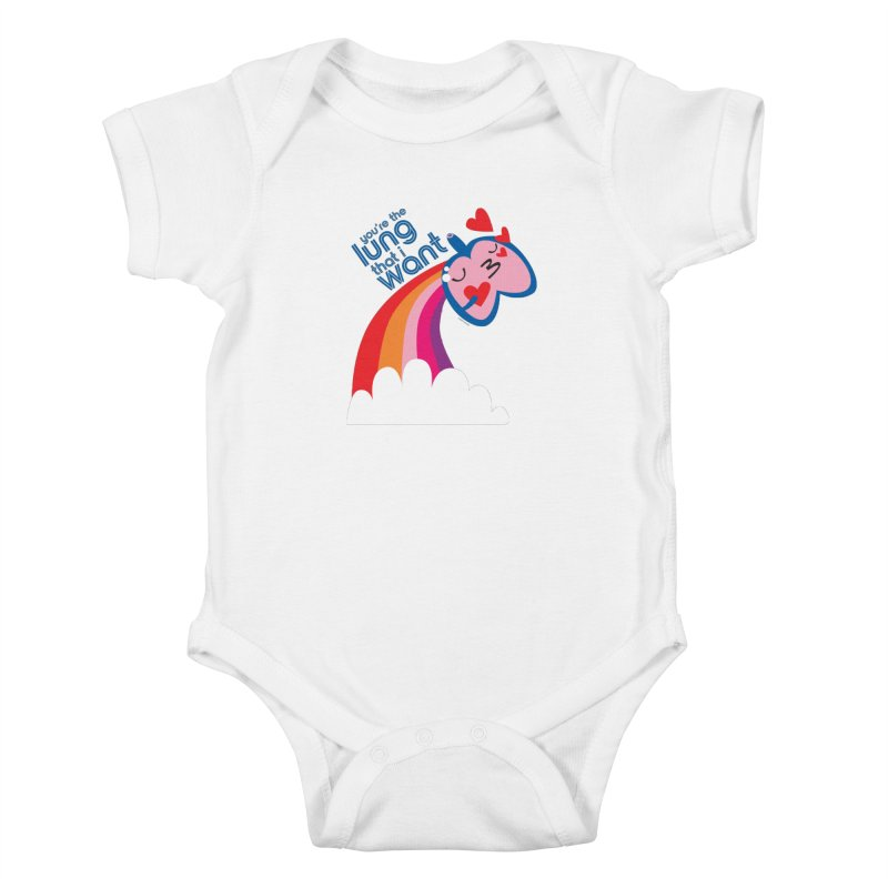 Lung That I Want Kids Baby Bodysuit by I Heart Guts