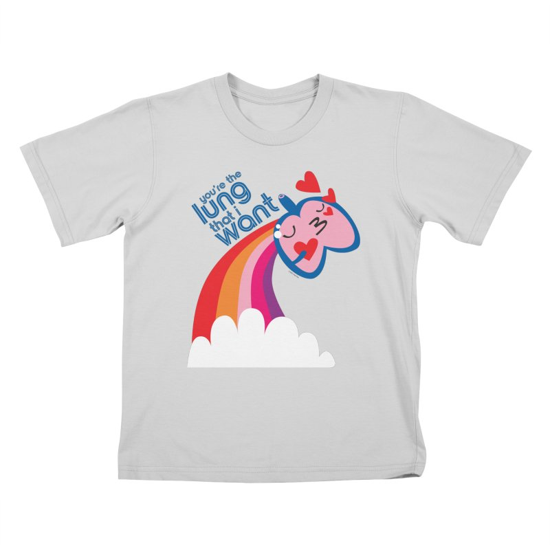 Lung That I Want Kids T-Shirt by I Heart Guts
