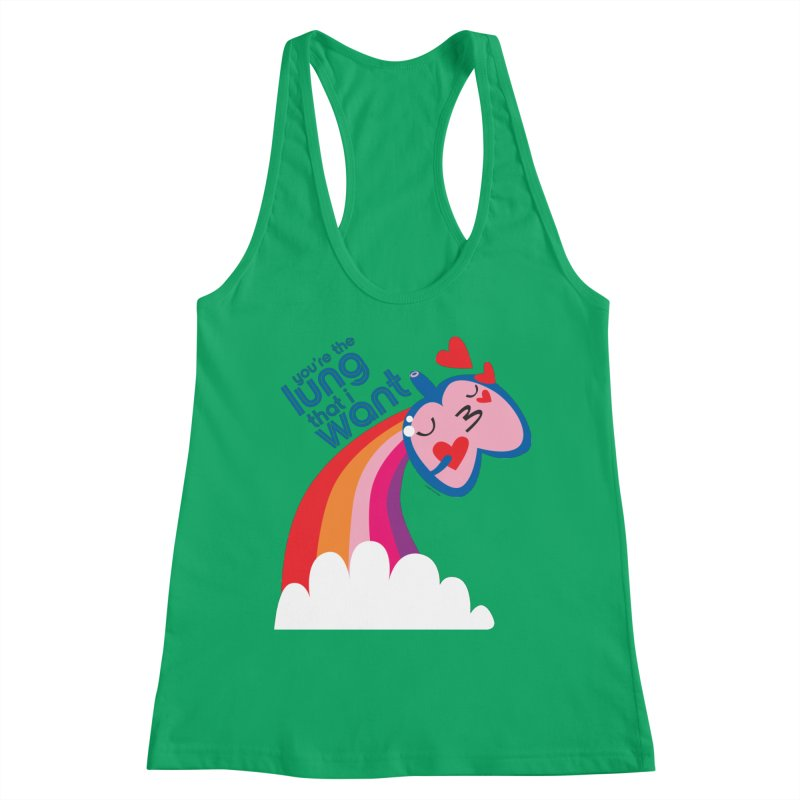 Lung That I Want Women's Tank by I Heart Guts