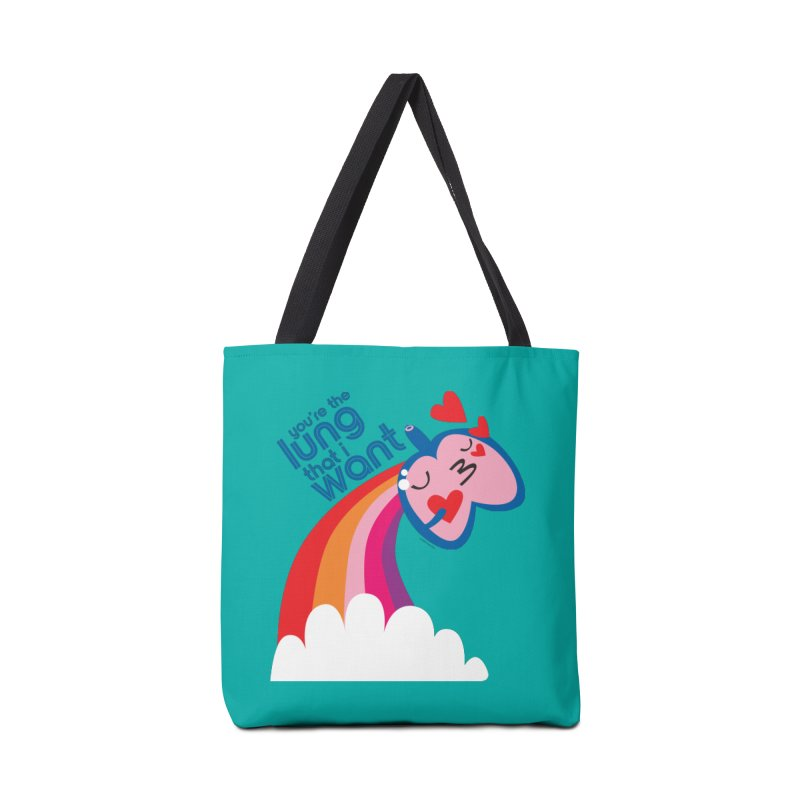 Lung That I Want Accessories Tote Bag Bag by I Heart Guts