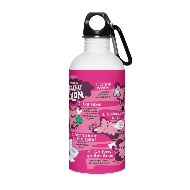 Colon Care Accessories Water Bottle by I Heart Guts