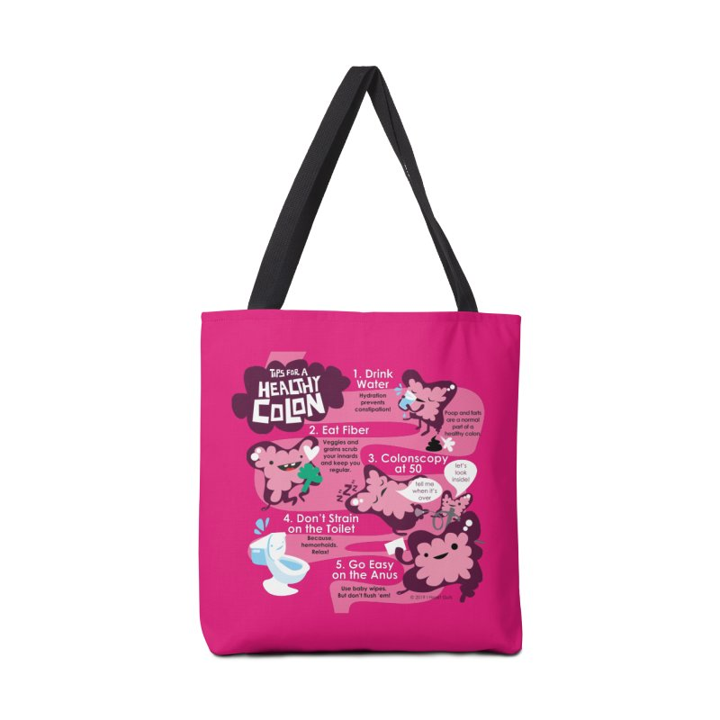 Colon Care Accessories Bag by I Heart Guts