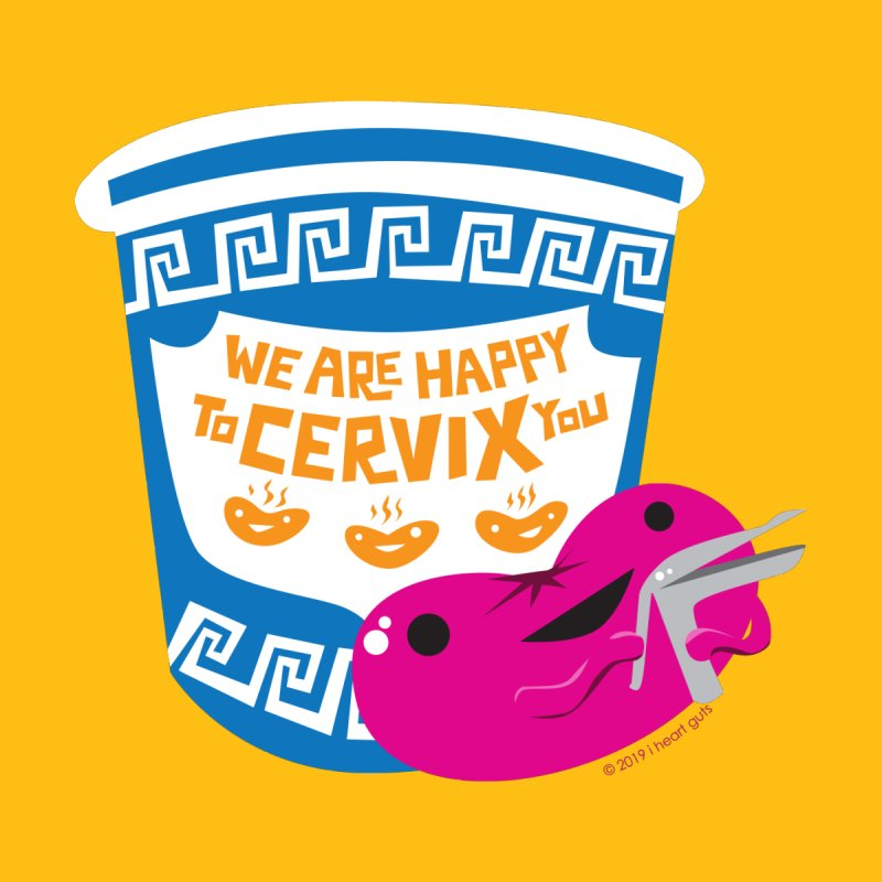 Cervix - We Are Happy to Cervix You Accessories Beach Towel by I Heart Guts