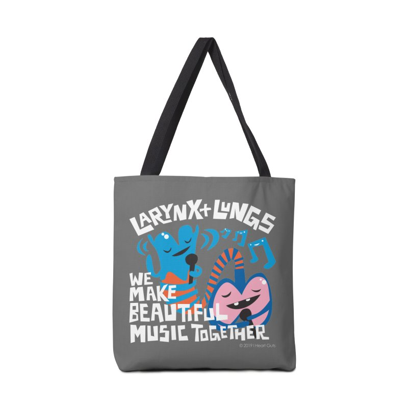 Larynx + Lungs: We Make Music Accessories Bag by I Heart Guts