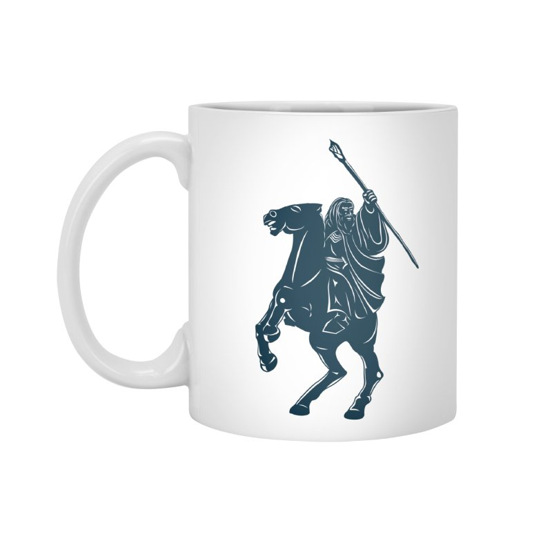 Gandalf Lauren Accessories Mug by ikado's Artist Shop