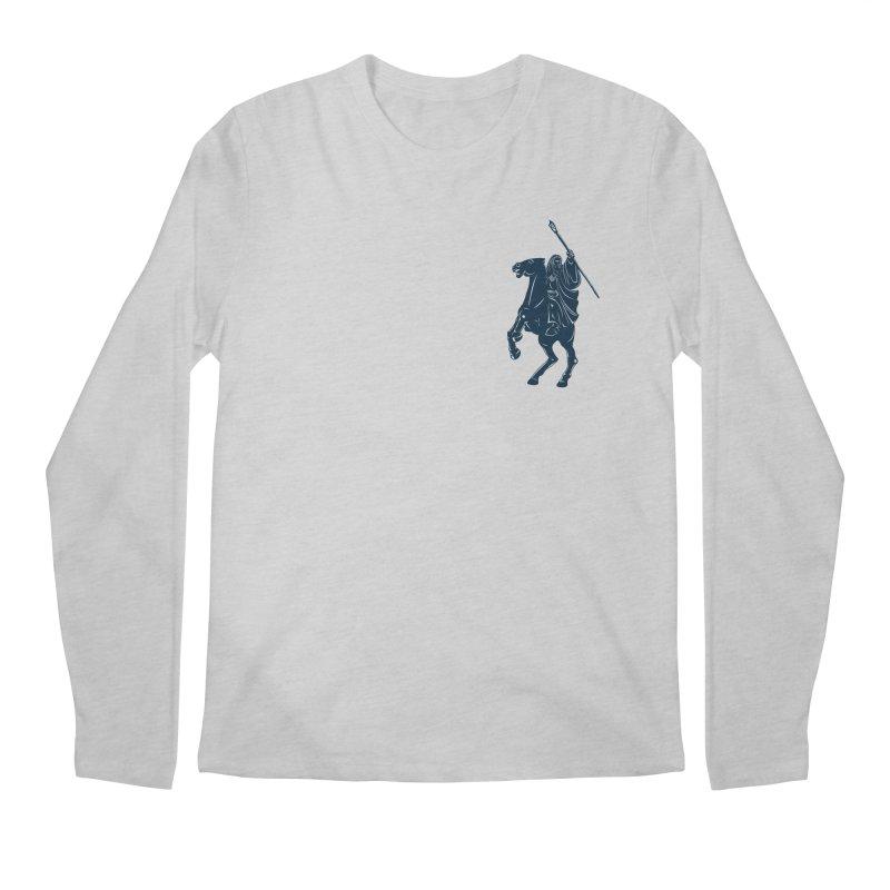 Gandalf Lauren Men's Longsleeve T-Shirt by ikado's Artist Shop