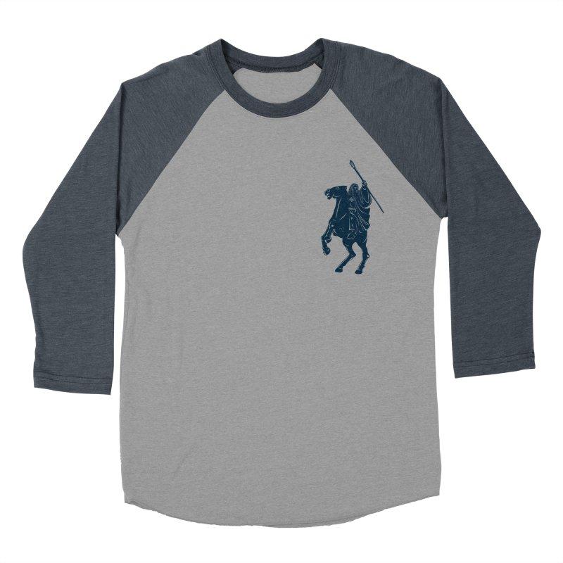 Gandalf Lauren Men's Baseball Triblend T-Shirt by ikado's Artist Shop