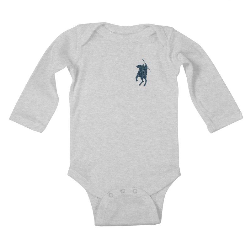 Gandalf Lauren Kids Baby Longsleeve Bodysuit by ikado's Artist Shop