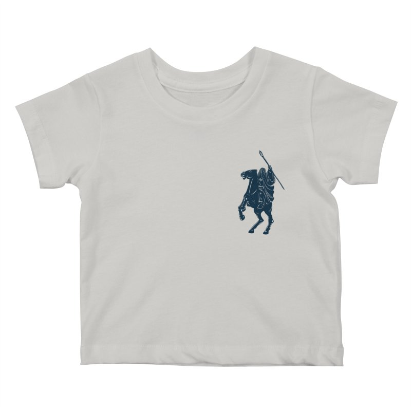Gandalf Lauren Kids Baby T-Shirt by ikado's Artist Shop