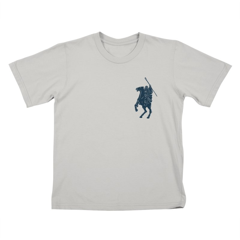 Gandalf Lauren Kids T-shirt by ikado's Artist Shop