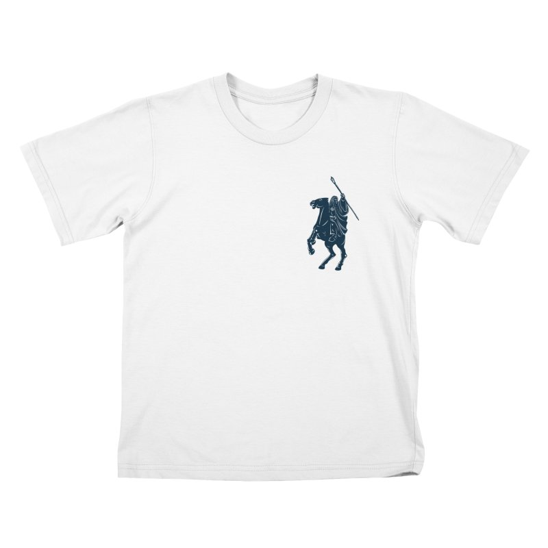 Gandalf Lauren Kids T-shirt by ikado's Artist Shop