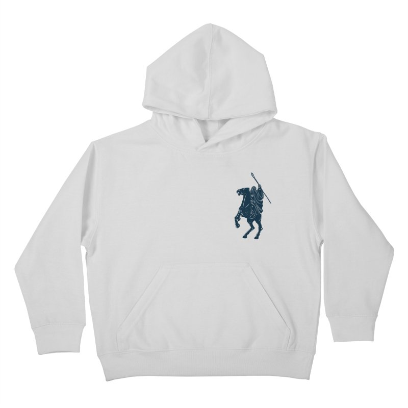 Gandalf Lauren Kids Pullover Hoody by ikado's Artist Shop