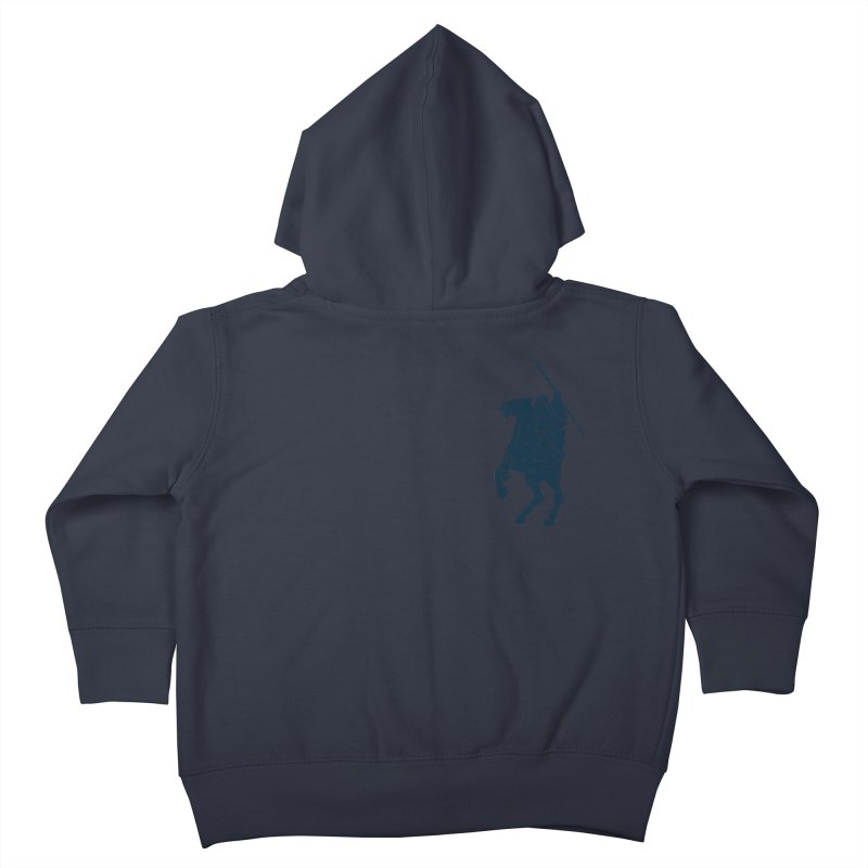 Gandalf Lauren Kids Toddler Zip-Up Hoody by ikado's Artist Shop