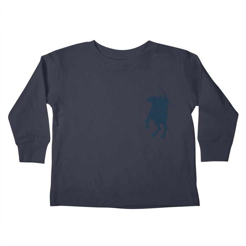 Gandalf Lauren Kids Toddler Longsleeve T-Shirt by ikado's Artist Shop