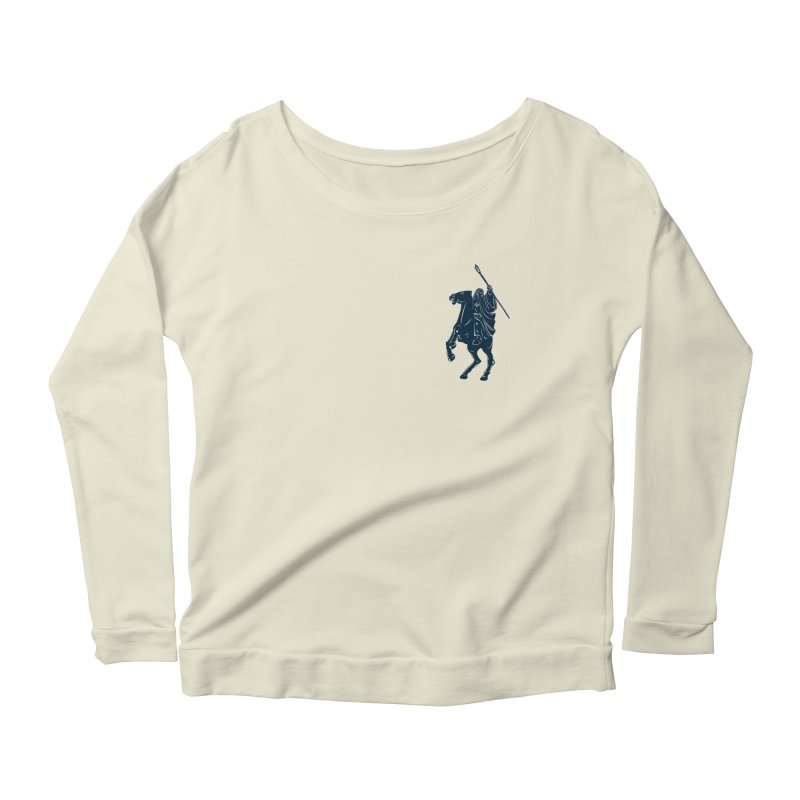 Gandalf Lauren Women's Longsleeve Scoopneck  by ikado's Artist Shop