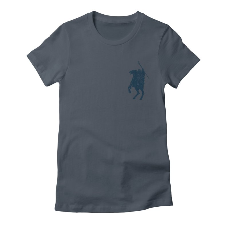 Gandalf Lauren Women's Fitted T-Shirt by ikado's Artist Shop