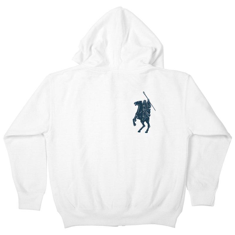 Gandalf Lauren Kids Zip-Up Hoody by ikado's Artist Shop