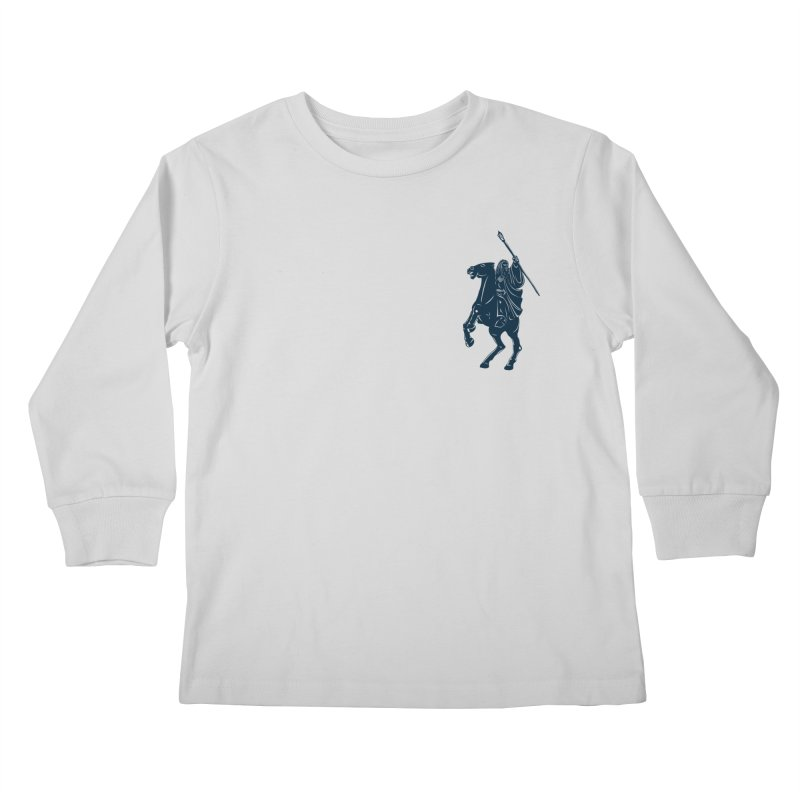 Gandalf Lauren Kids Longsleeve T-Shirt by ikado's Artist Shop