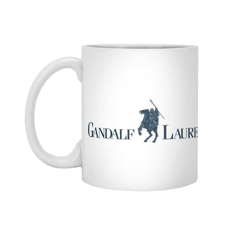 Gandalf Lauren 2 Accessories Mug by ikado's Artist Shop