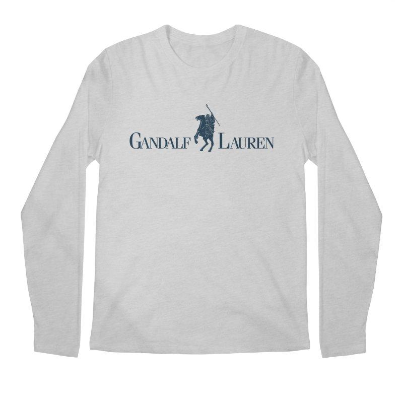 Gandalf Lauren 2 Men's Longsleeve T-Shirt by ikado's Artist Shop