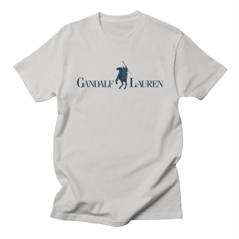 Gandalf Lauren 2 Men's T-shirt by ikado's Artist Shop