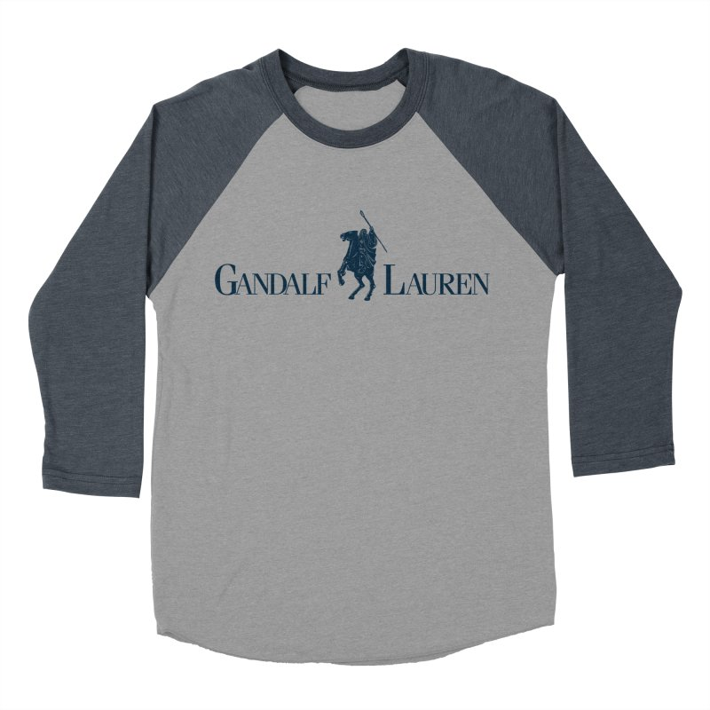 Gandalf Lauren 2 Women's Baseball Triblend T-Shirt by ikado's Artist Shop