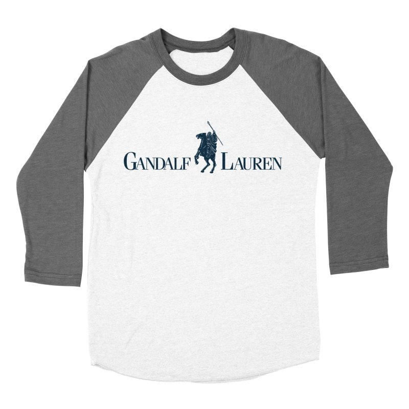 Gandalf Lauren 2 Men's Baseball Triblend T-Shirt by ikado's Artist Shop