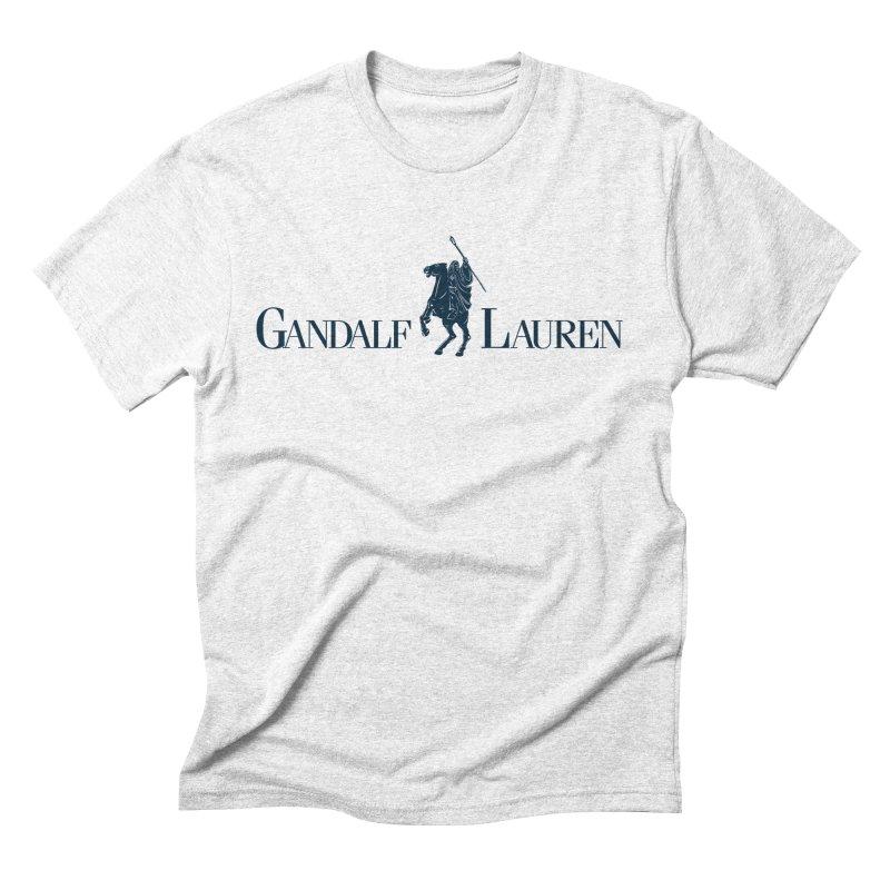 Gandalf Lauren 2 Men's Triblend T-shirt by ikado's Artist Shop