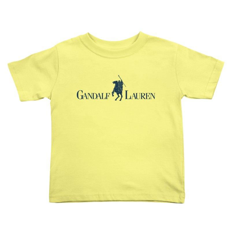Gandalf Lauren 2 Kids Toddler T-Shirt by ikado's Artist Shop