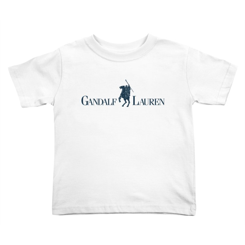 Gandalf Lauren 2 Kids Toddler T-Shirt by ikado's Artist Shop