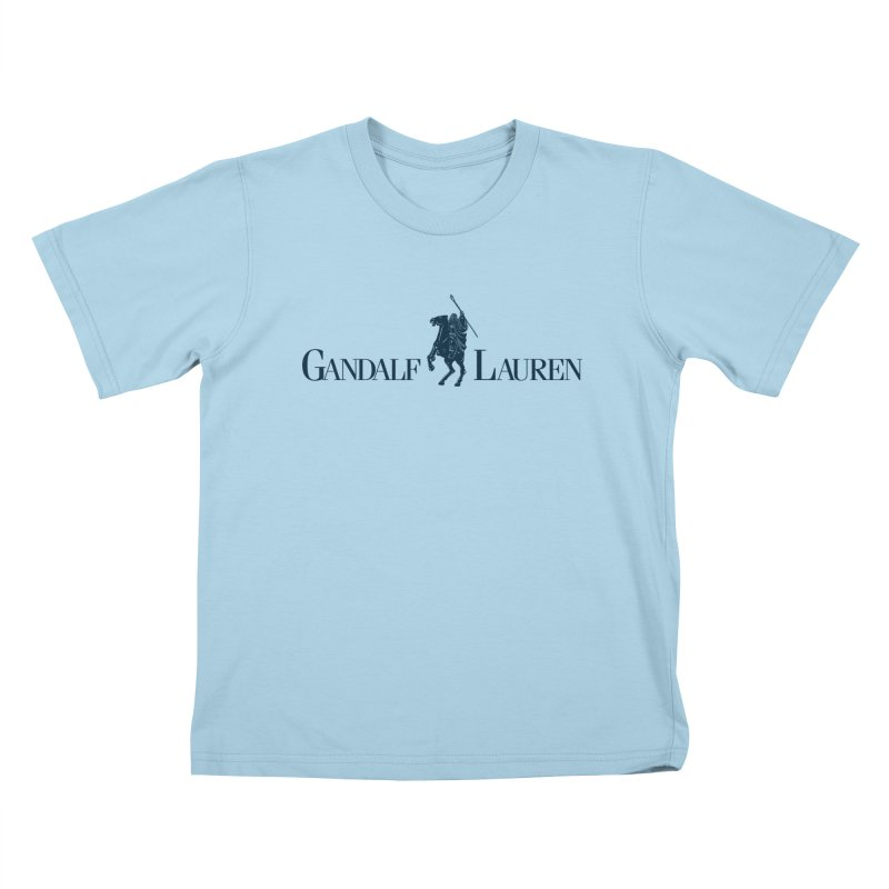 Gandalf Lauren 2 Kids T-shirt by ikado's Artist Shop