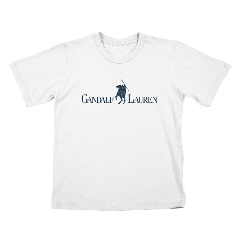Gandalf Lauren 2 Kids T-shirt by ikado's Artist Shop