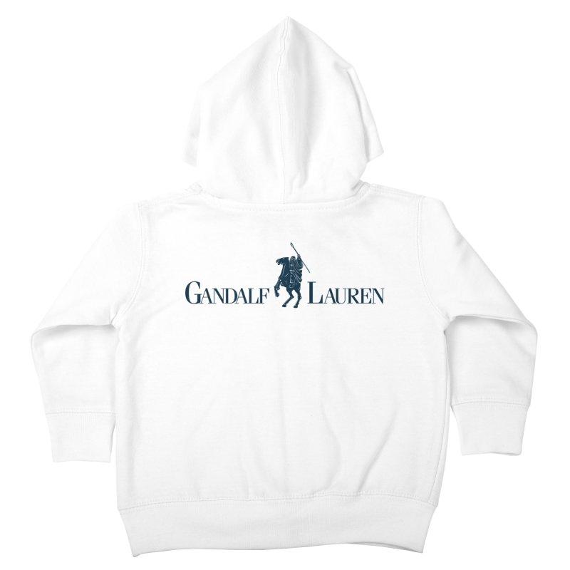 Gandalf Lauren 2 Kids Toddler Zip-Up Hoody by ikado's Artist Shop