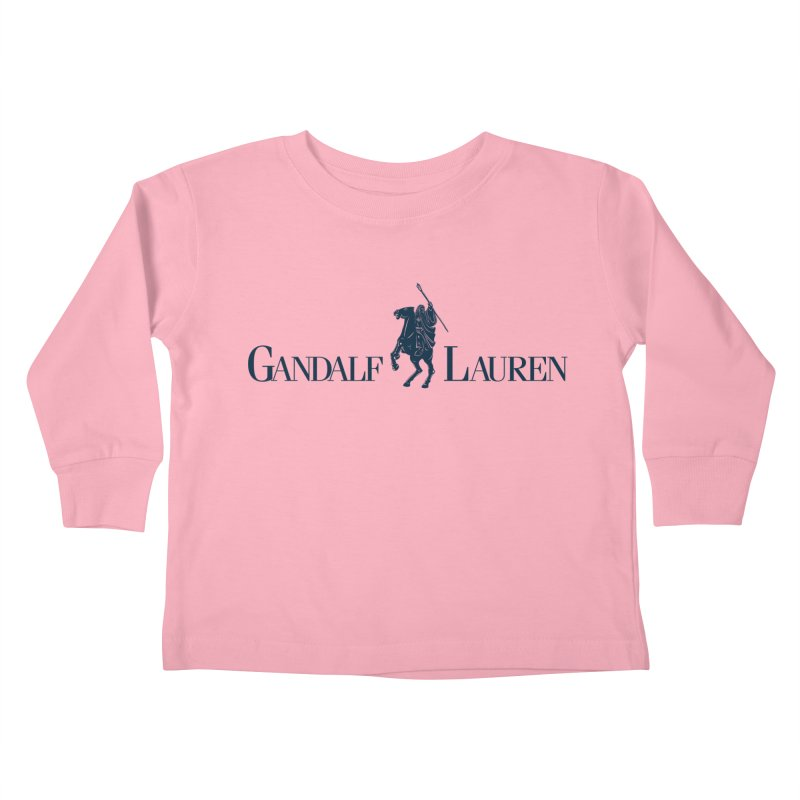 Gandalf Lauren 2 Kids Toddler Longsleeve T-Shirt by ikado's Artist Shop
