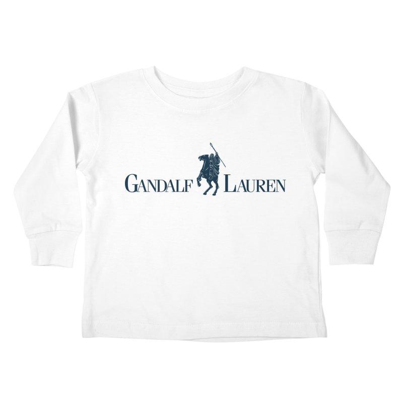 Gandalf Lauren 2 Kids Toddler Longsleeve T-Shirt by ikado's Artist Shop