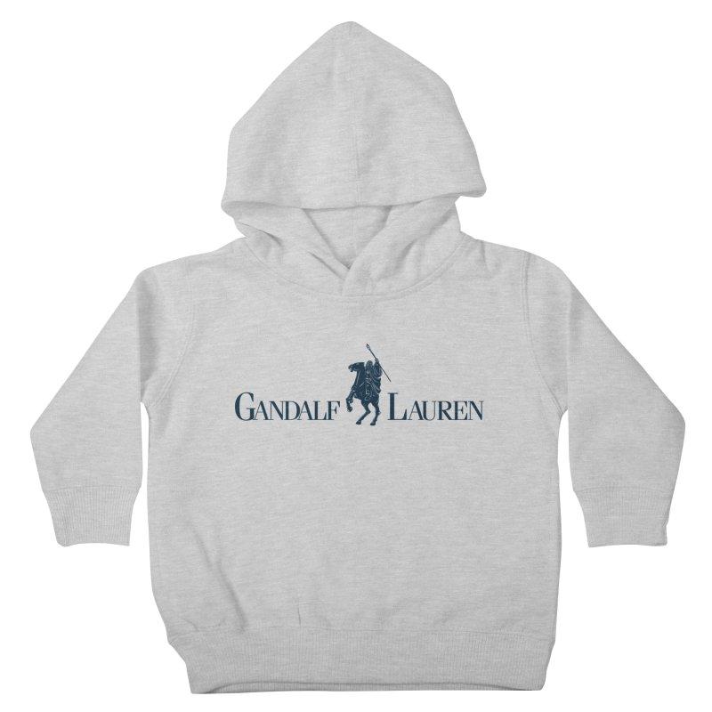 Gandalf Lauren 2 Kids Toddler Pullover Hoody by ikado's Artist Shop
