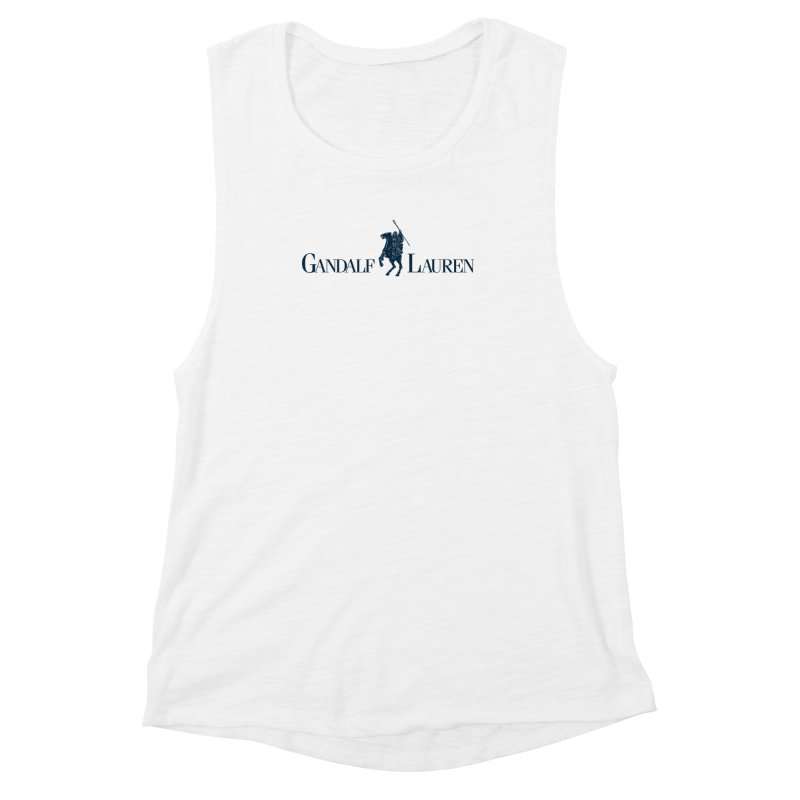 Gandalf Lauren 2 Women's Muscle Tank by ikado's Artist Shop