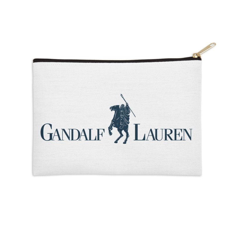 Gandalf Lauren 2 Accessories Zip Pouch by ikado's Artist Shop