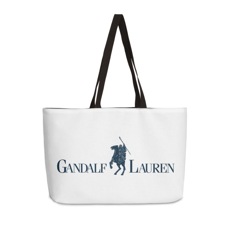 Gandalf Lauren 2 Accessories Weekender Bag Bag by ikado's Artist Shop