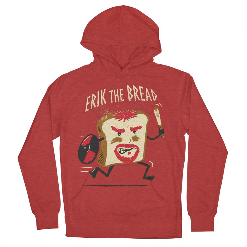 Erik the Bread Men's Pullover Hoody by ikado's Artist Shop