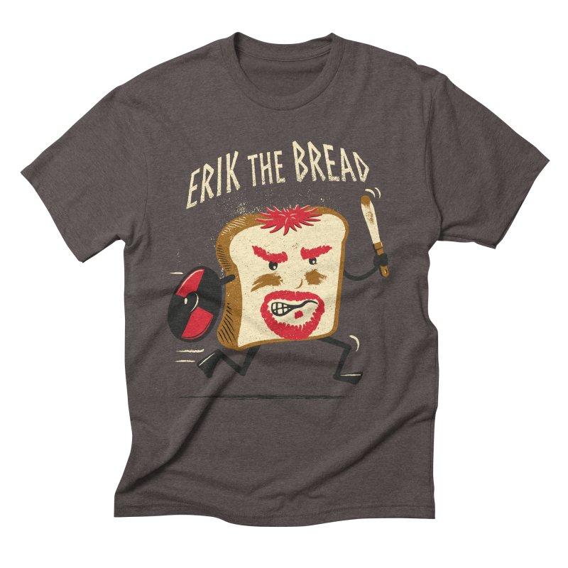 Erik the Bread Men's Triblend T-shirt by ikado's Artist Shop